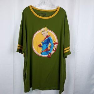 MARVEL Captain Marvel Lootwear Graphic Tee
